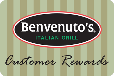 Learn more about Benvenuto's Customer Rewards Card